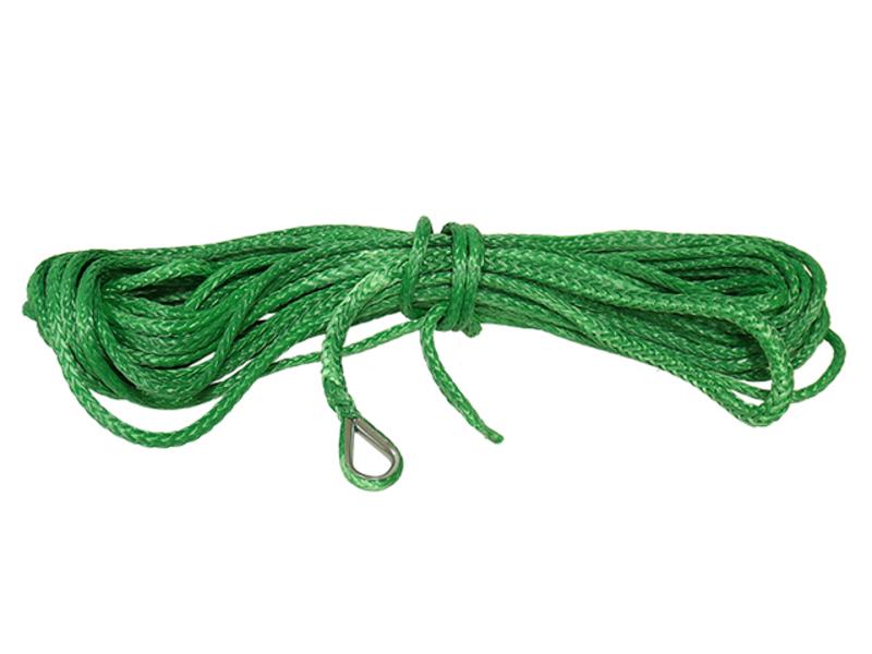 Bronco synteettinen vinssin köysi 4,5 mm x 15,3 m vihreä