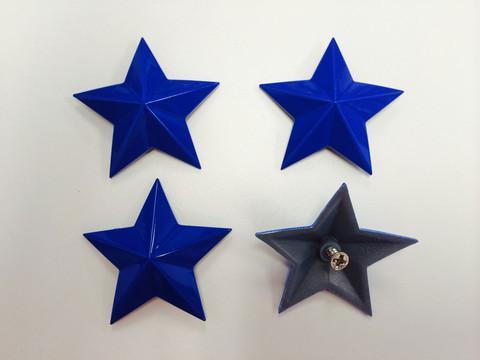 MSA Cobalt Blue Cap Stars keskikupin tähdet