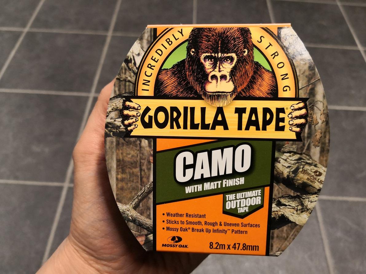Gorilla teippi Camo 8.2 m x 47.8 mm