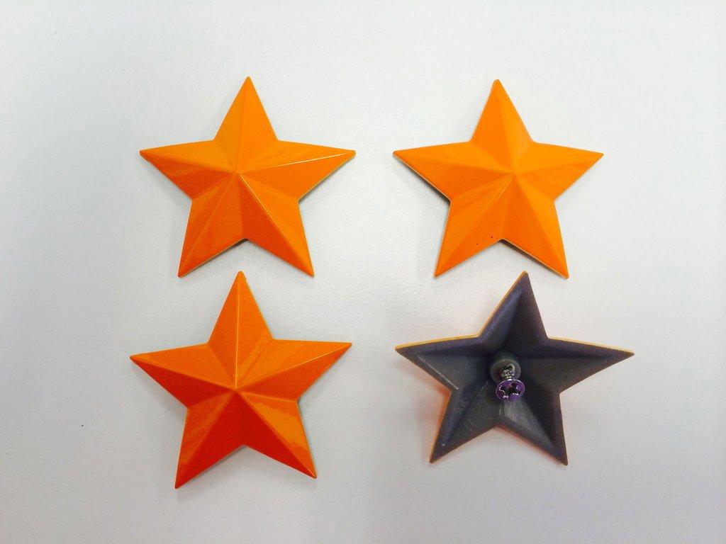 MSA Orange Crush Cap Stars keskikupin tähdet
