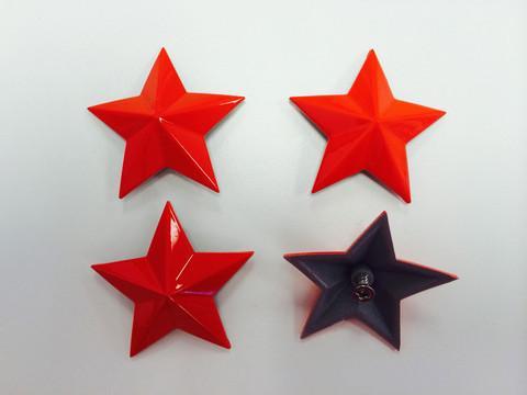 MSA Fire Red Cap Stars keskikupin tähdet