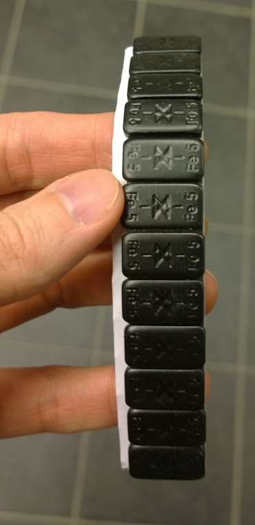 Tarrapaino musta 60 g (12 x 5 g)