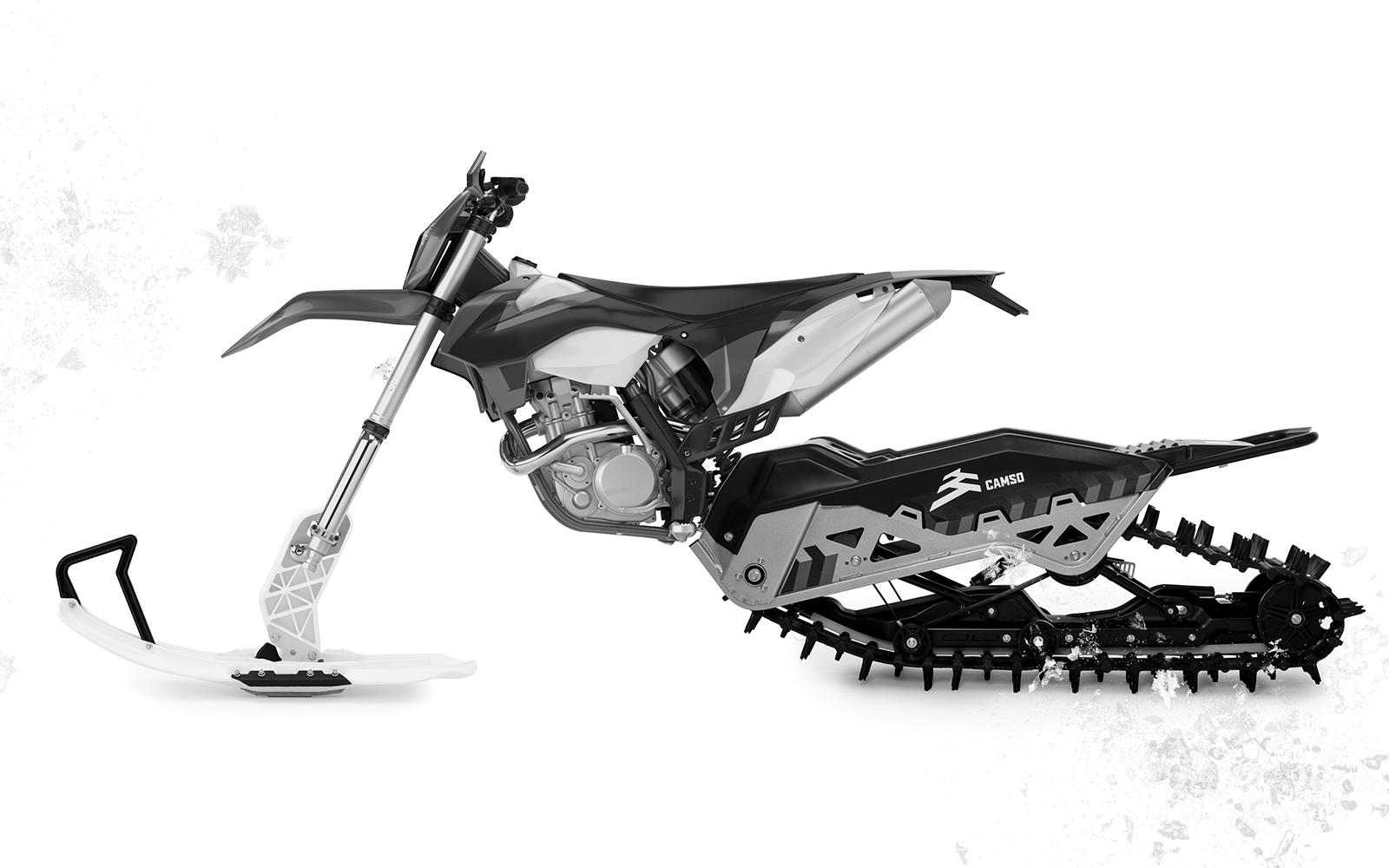 Camso DTS 129 moottoripyörän telasarja 2021