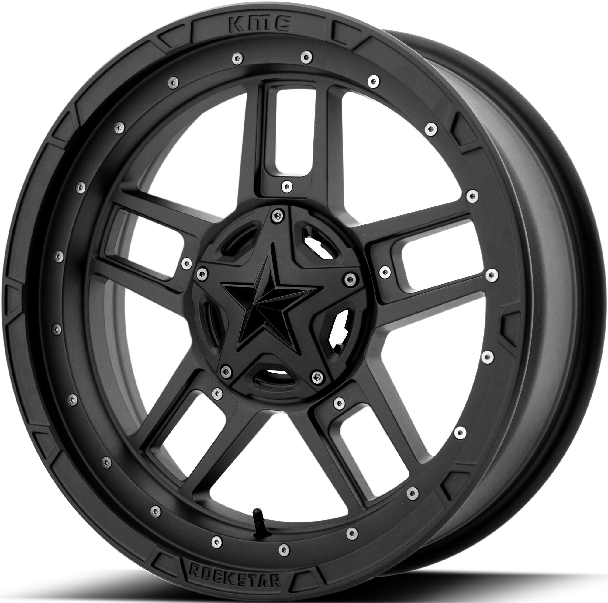 KMC 20x7 4x137 XS827 RS3 Matte Black vannesarja Can-Am