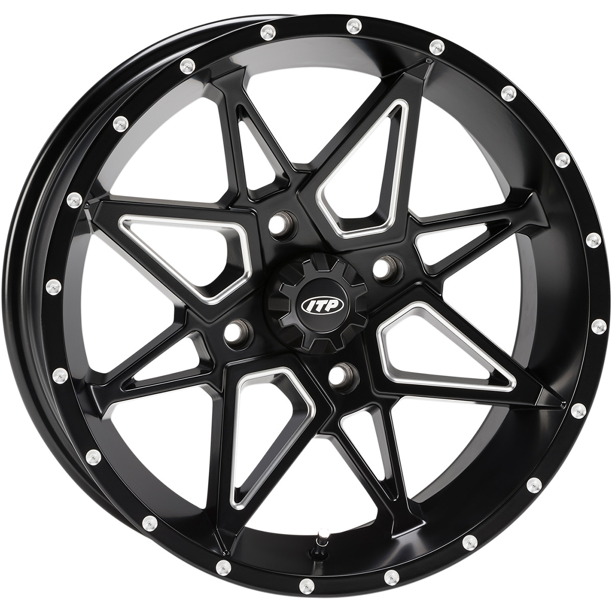 ITP 17x7 4x137 Tornado vannesarja Can-Am