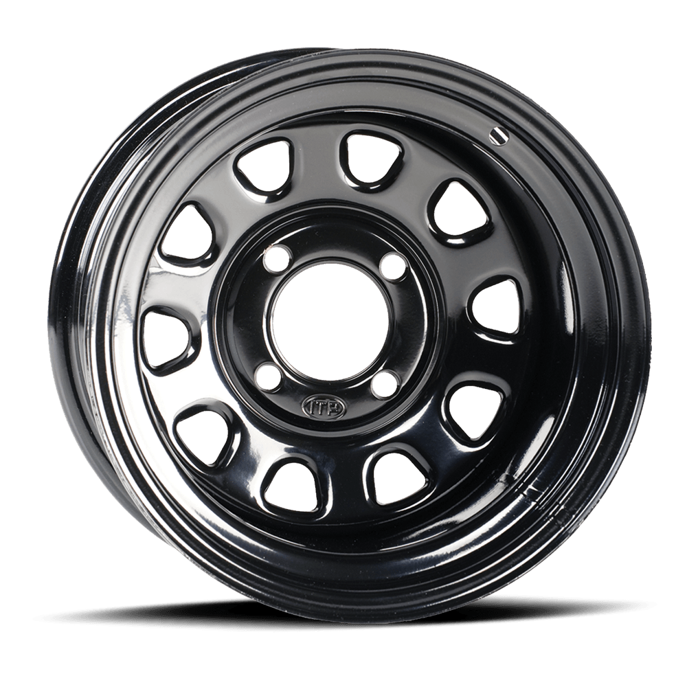 ITP 14x7 4x137 Delta Black vannesarja 12 mm pultinreiät Can-Am Maverick X3 Turbo